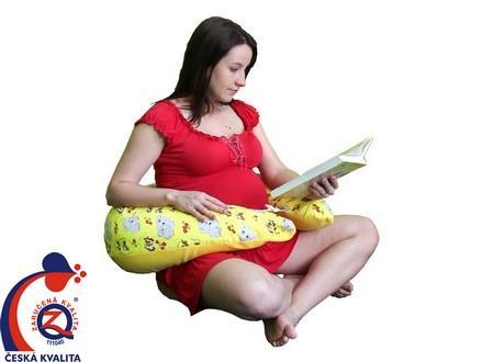 Využití kojeneckého polštáře