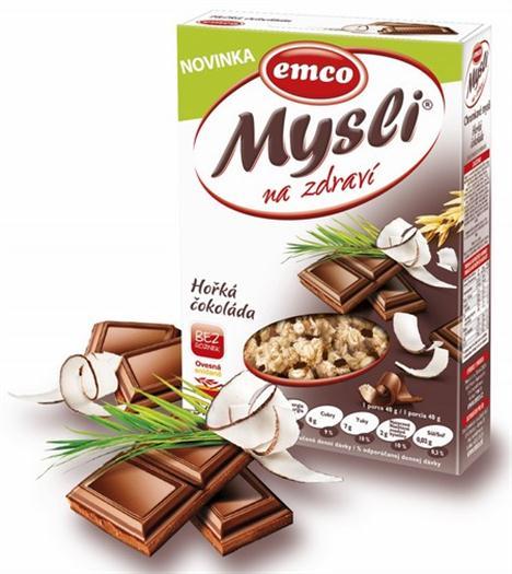 Mysli hořká čokoláda