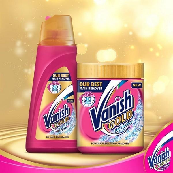přípravky Vanish