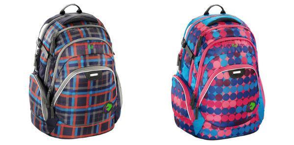 batohy mají atraktivní design a reflexní prvky