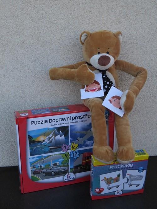 Puzzle - Dopravní prostředky