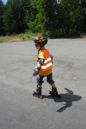 Reflexní vestička zvýrazní vaše dítě při různých sportovních aktivitách