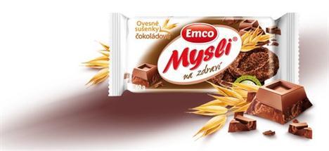 Ovesná sušenka s čokoládovou příchutí