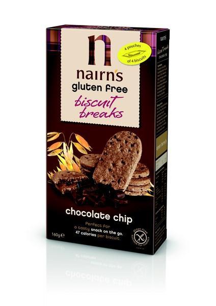 Ovesné sušenky s čokoládou bez lepku