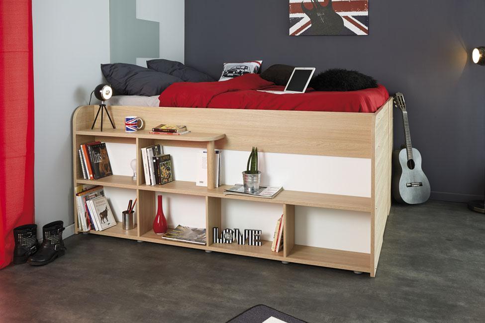 Postel, úložný prostor a noční stolek a ještě mnohem víc v jednom