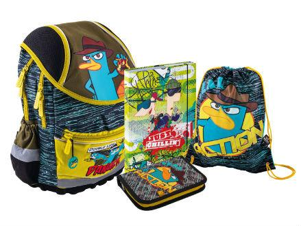 Školní batohy Phineas&Ferb