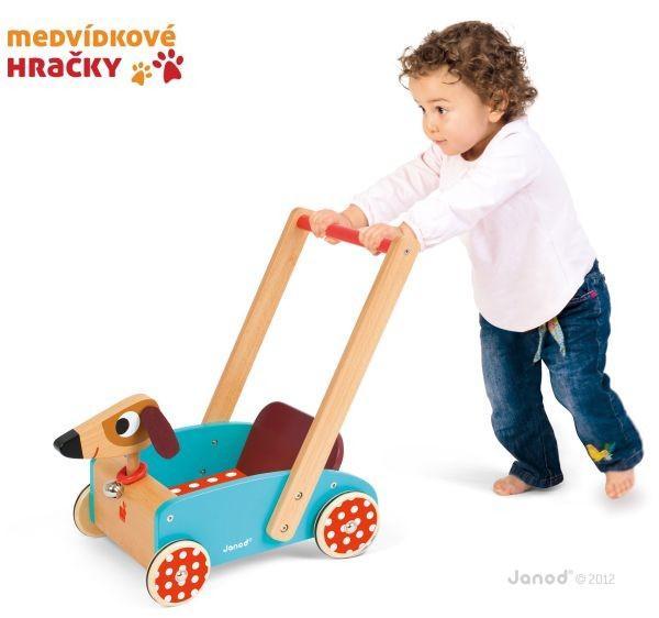 Dřevěné hračky jsou trvanlivé, ekologické a zdravotně nezávadné
