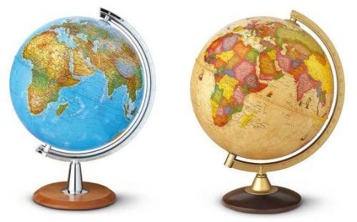 Globusy potěší každého školáka