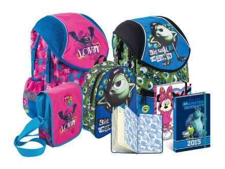 Školní batohy Příšerky pro kluky a holky