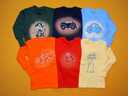 Obrázková trička mají děti nejraději