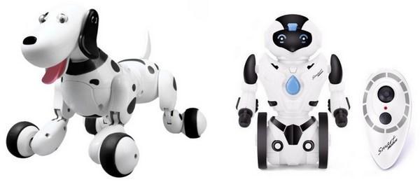 Robo-Dog - Pes na dálkové ovládání a RC segway robot KidBe na dálkové ovládání