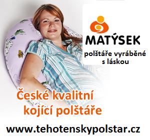 Těhotenské polštáře Matýsek