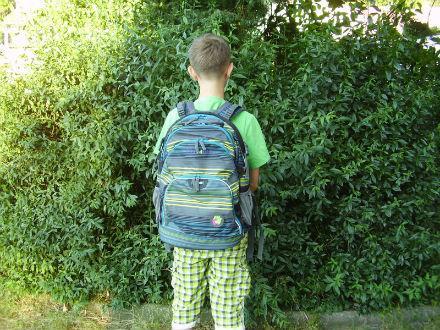 testujeme školní batoh
