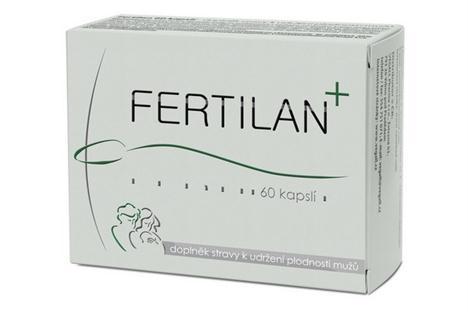 Kapsle Fertilan pro podporu plodnosti muze