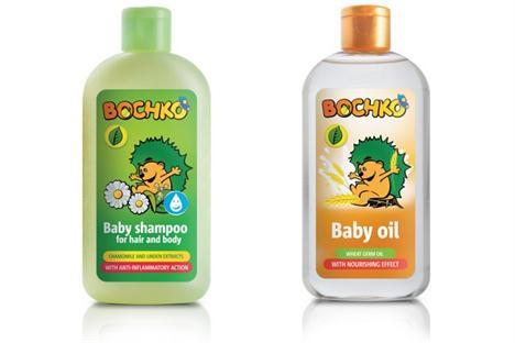 Dětský šampón a olejíček
