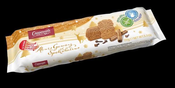 Perníkové zimní sušenky bez lepku a laktózy