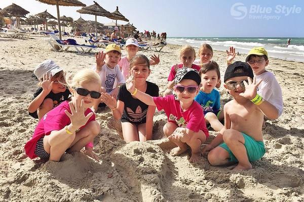 Croco club na pláží