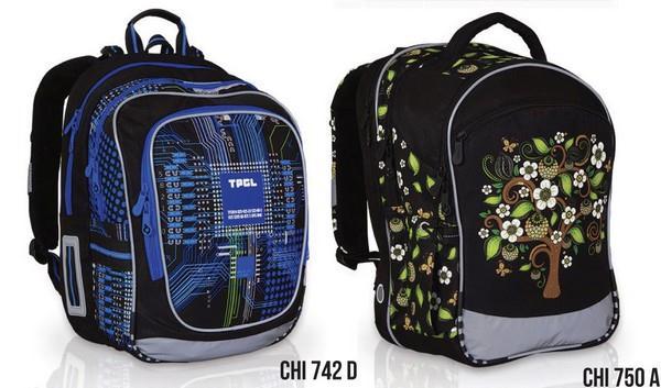 Školní batohy TOPGAL CHI 742 D a CHI 750 A