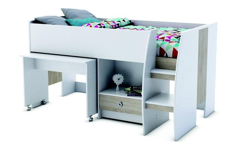 Vyvýšená dětská postel