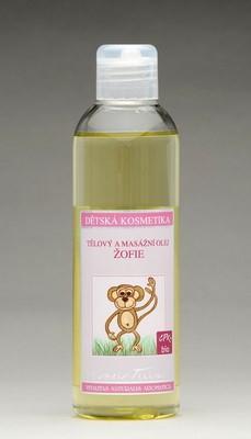 Tělový a masážní olej Žofie