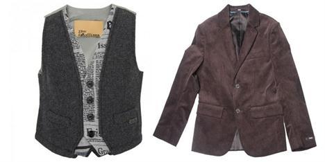 Luxusní chlapecké oblečení