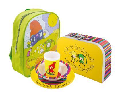 Dětské nádobí s motivy z Kouzelné školky