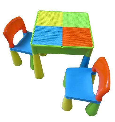 Multifunkční Tega stolek
