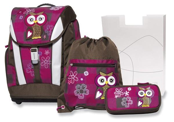 Aktovka Schneiders The Owl Olivia s příslušenstvím