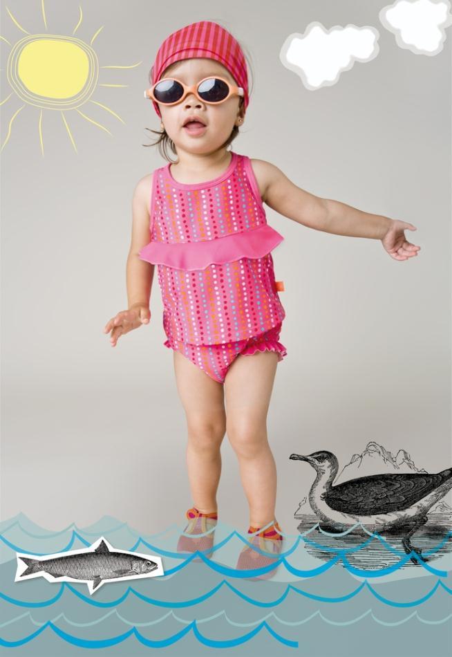 LÄSSIG Splash & Fun_Tankini Girls