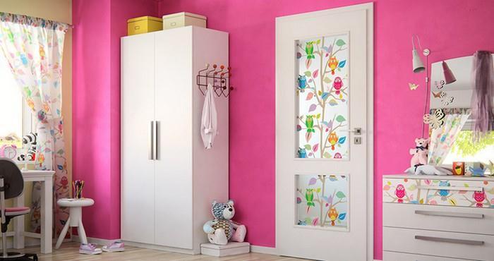 Interiérové dveře Sapeli do dětského pokoje