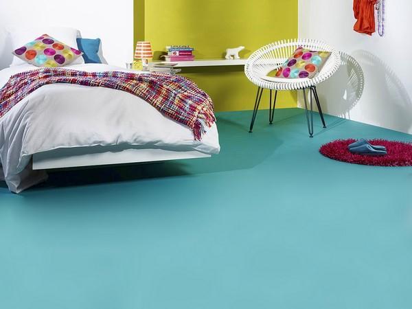 Celoplošná lepená podlaha