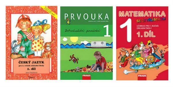 Široká nabídka učebnic pro základní školy