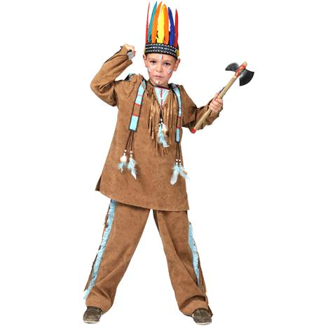 Dětská maska pro malé indiány, indiánská maska