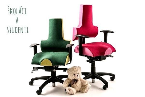 iENERGY S Rostoucí ergonomická židle pro děti od 6 let (130-155 cm)