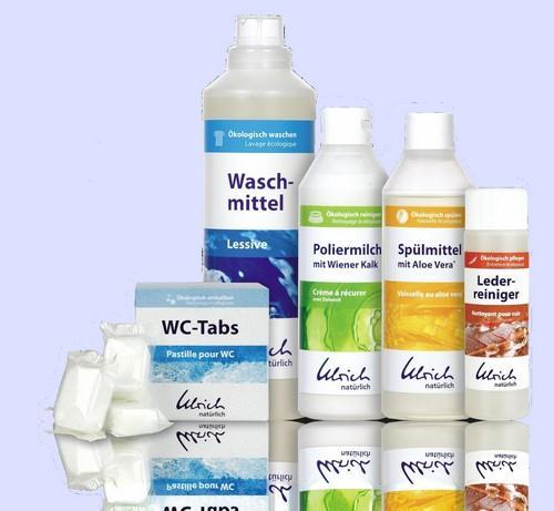 Produkty pracího a čistícího programu Ulrich