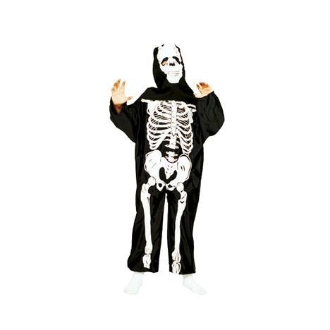 Dětské masky duchové a kostry