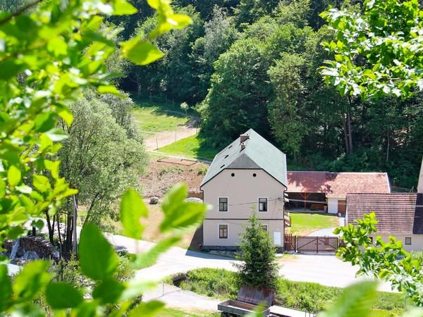 Penzion Starý pivovar v malebné přírodě Moravského krasu