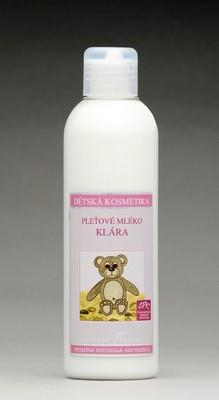 Pleťové mléko Klárka