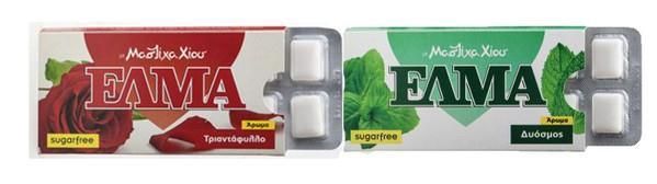žvýkačky ELMA
