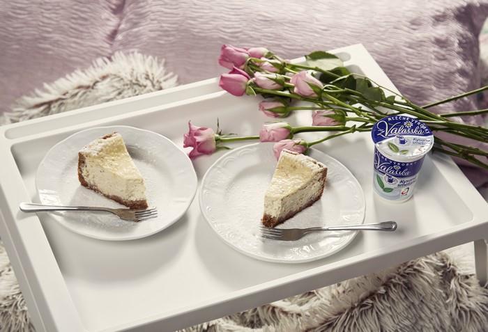 Valentýnský Cheesecake