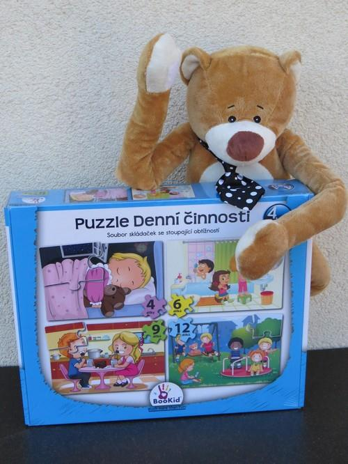 Puzzle - Denní činnosti