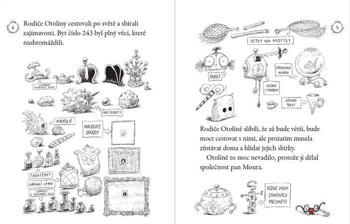 Kniha je plná propracovaných ilustrací