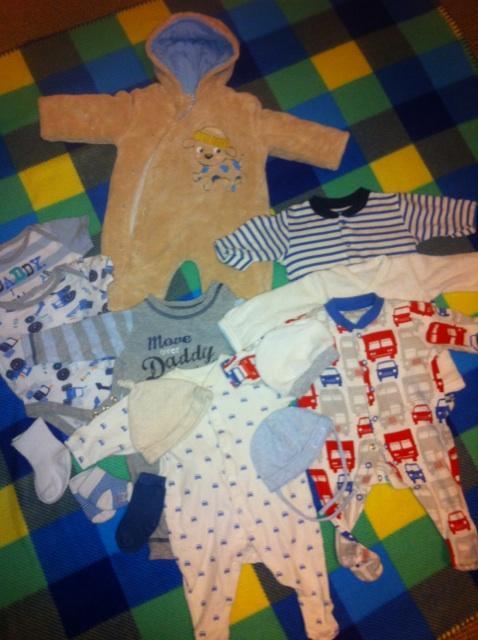 be8c332bbad prodám oblečení pro chlapečka 0-2 měsíce - Bazar - Rodičům.cz