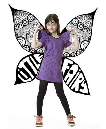 Dívčí outfit od návrhářky Kristiny Petkovic