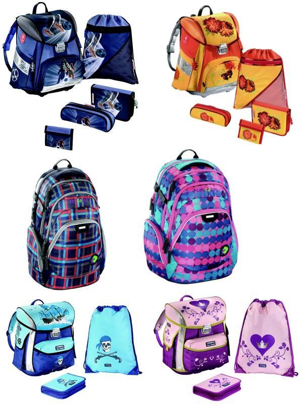 Školní aktovky, batohy a tašky